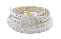 Світлодіодна стрічка вологозахищена 24вольт 8.6 Вт 745лм 2835-120-IP67-NW-10-24 RD30C0TC-B 4000K CRI80 14445о