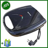Электрическая сэндвичница (гриль бутербродница) Rainberg RB-5407 2200W, гриль электрический контактный