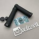 Гріпси чорні з алюмінієвими замками, фото 3