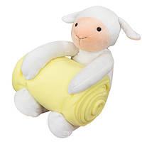 Плед с игрушкой Sheep Yellow