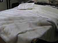 Покрывало из натурального меха норки (шкур)