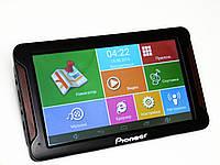 Автомобильный GPS навигатор 7 дюймов экран Планшет Pioneer 718 - GPS+ 4Ядра+ 8Gb+ Android