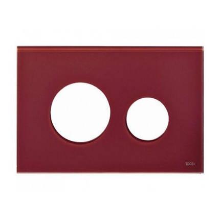 Лицевая панель для клавиш TECEloop, стекло, рубиновый Alape (9240679), фото 2