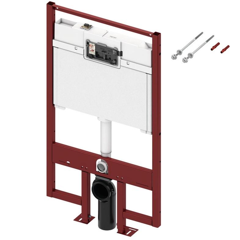 Інсталяція для унітазу TECEconstruct зі змивним бачком товщиною 8 см висота 1200 мм (9300040)