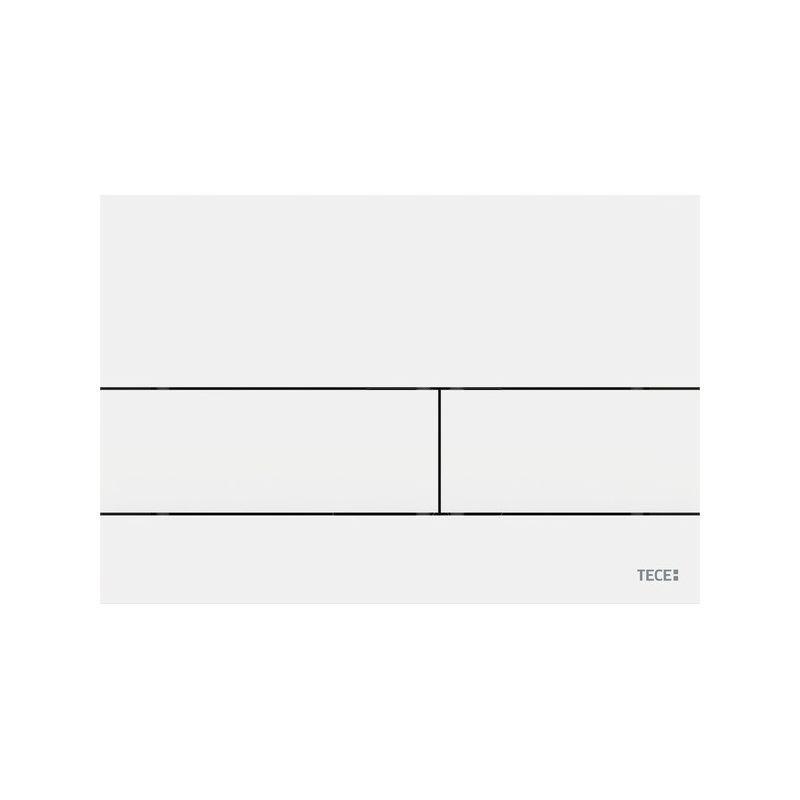 Панель смыва с двумя клавишами TECEsquare II, белая матовая (9240834)