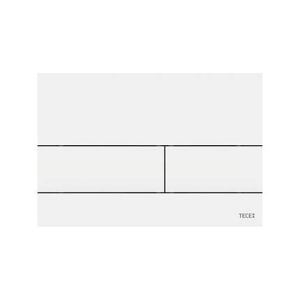 Панель смыва с двумя клавишами TECEsquare II, белая матовая (9240834), фото 2