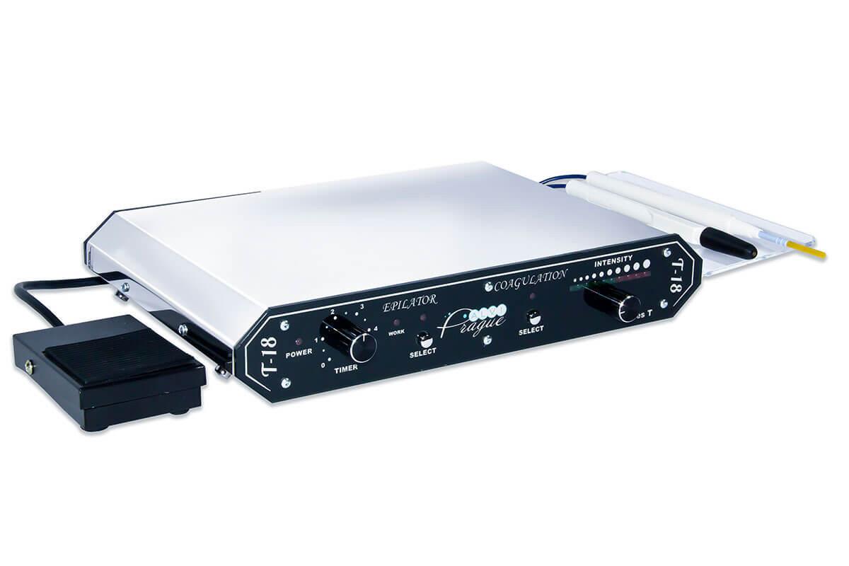 Аппарат электрокоагуляции для электроэпиляции T-18 Электроэпилятор для косметолога