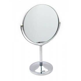 Зеркальце настольное круглое 28х15.5х15.5 см 24976, КОД: 1344449