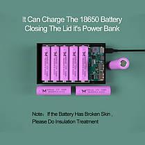 Корпус коробка Power Bank Qi 18650х5 CX5-Qi, фото 2
