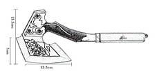 Тактичний сокиру томогавк HGF-SS, фото 3