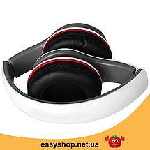Навушники з мікрофоном Ditmo DM-2550 Білі - дротові навушники для комп'ютера, ноутбука Топ, фото 2