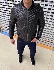 Чоловіча куртка на весну. Верх матова плащівка, всередині на тонкому синтепоні.Дуже стильна, комфортна, легка.