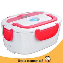 Ланч-бокс електричний Electronic Lunch box з підігрівом 1.05 л - Термоконтейнер для їжі, Термос для їжі 220V, фото 2