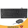 Клавіатура Zeus M710 + мишка. Російська дротова клавіатура з підсвічуванням. Топ, фото 4