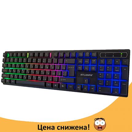 Игровая клавиатура с подсветкой Atlanfa AT-6300, фото 2