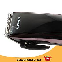 Машинка для стрижки волос GEMEI GM-813 с насадками - Профессиональная беспроводная машинка, триммер, бритва, фото 2