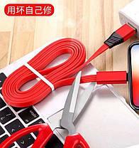 Восстанавливаемый зарядный дата кабель для Type-C  1,5 m Reborn, фото 3