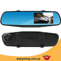 """Автомобільний відеореєстратор DVR 138E 2.7"""" - відеореєстратор дзеркало заднього виду, автореєстратор дзеркало, фото 2"""