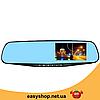 """Автомобільний відеореєстратор DVR 138E 2.7"""" - відеореєстратор дзеркало заднього виду, автореєстратор дзеркало, фото 3"""
