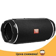 Портативная колонка TG 116 (Черная) - беспроводная водонепроницаемая Bluetooth колонка (Реплика), фото 2