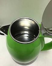 Электрочайник DOMOTEC MS-5025C - Чайник электрический 2.0 л 220V/1500W Зеленый, фото 3