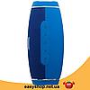 Портативная Bluetooth колонка Hopestar H27 - мощная акустическая стерео блютуз колонка Синяя, фото 4