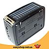 Радиоприемник GOLON RX-456S - портативный радиоприёмник с солнечной панель - колонка MP3 с USB и аккумулятором, фото 2