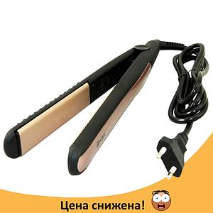 Утюжок, плойка-выпрямитель для волос Gemei GM 2955