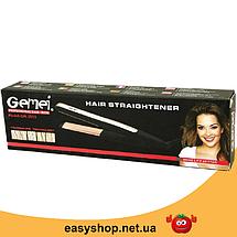Утюжок, плойка-випрямляч для волосся Gemei GM 2955 Топ, фото 2