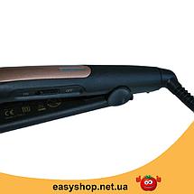 Утюжок, плойка-випрямляч для волосся Gemei GM 2955 Топ, фото 3
