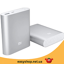 Портативное зарядное устройство Power Bank Mi 10400mAh, универсальная батарея, внешний аккумулятор, повер банк, фото 3