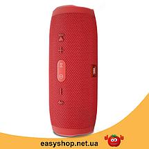 Портативная колонка JBL CHARGE 4 красная - беспроводная Bluetooth колонка + Power Bank (Реплика), фото 2