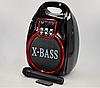 Колонка Golon RX 820 с микрофоном - портативная Bluetooth колонка с радио и светомузыкой, фото 4