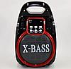 Колонка Golon RX 820 с микрофоном - портативная Bluetooth колонка с радио и светомузыкой, фото 6