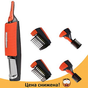 Тример Micro Touch Switchblade - універсальна бритва для носа і вух, машинка для стрижки Топ