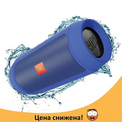 Портативна колонка JBL CHARGE 2+ на 6000 mAh Синя - водонепроникна Bluetooth колонка (Найкраща копія) Топ, фото 2