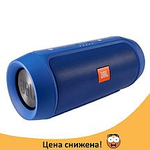 Портативна колонка JBL CHARGE 2+ на 6000 mAh Синя - водонепроникна Bluetooth колонка (Найкраща копія) Топ, фото 3