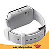 Умные часы Smart Watch DZ-09 White - смарт часы под SIM-карту и SD карту (Белые), фото 4
