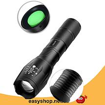Тактичний ліхтарик Bailong Police 158000W BL-1831-T6 - ручний світлодіодний акумуляторний ліхтар Топ, фото 3