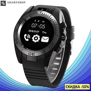 Розумні годинник смарт годинник Smart Watch SW007 (Sim-картка, MicroSD, секундомір, протикрадій, мікрофон,