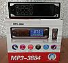Автомагнитола Pioneer 3884 ISO 1DIN - MP3 Player, FM, USB, SD, AUX сенсорная автомобильная магнитола, фото 5