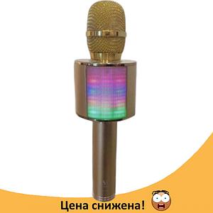 Микрофон караоке YS-66 2 в 1 - беспроводной Bluetooth микрофон - портативная колонка со слотом USB + TF card