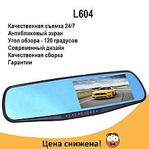 """Автомобильный видеорегистратор L604 2,7"""" с антибликовым покрытием - авторегистратор зеркало заднего вида, фото 2"""