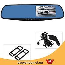 """Автомобильный видеорегистратор L604 2,7"""" с антибликовым покрытием - авторегистратор зеркало заднего вида, фото 3"""