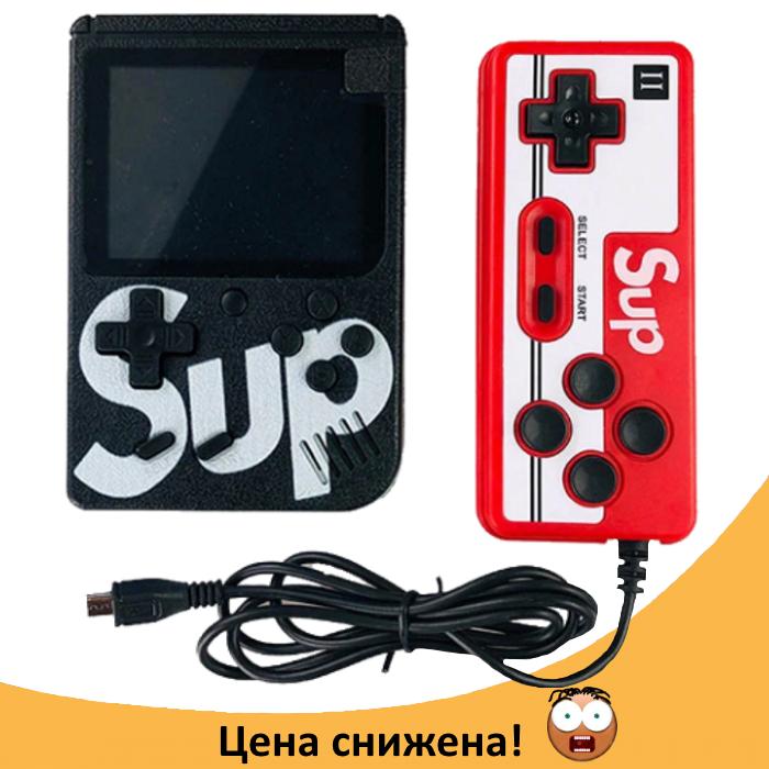 Ігрова приставка SUP Game Box 400в1 - Приставка Dendy для двох гравців, з джойстиком, з підключенням до ТВ Топ