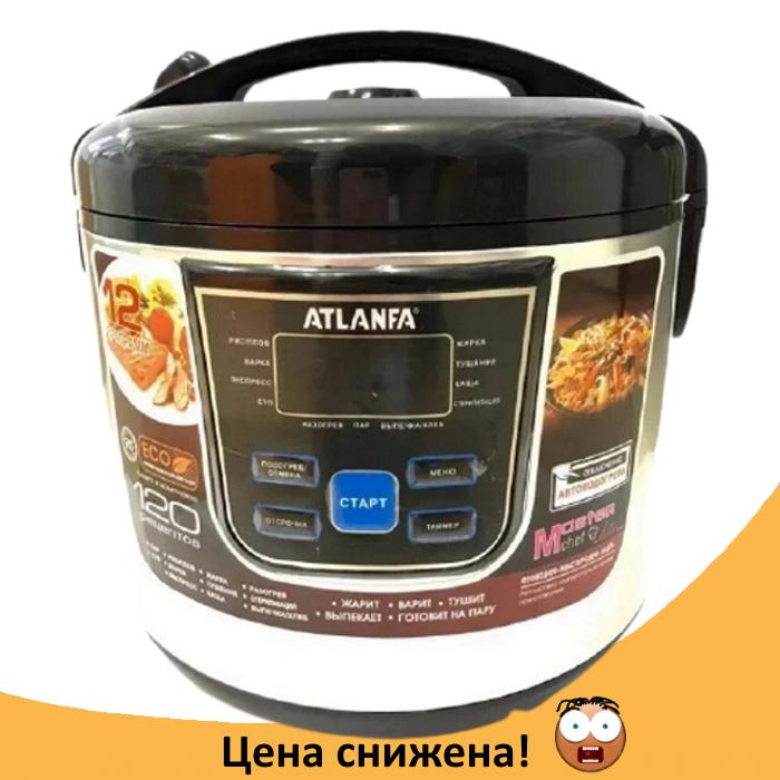 Мультиварка ATLANFA AT-M08 на 6л 900Вт - электрическая скороварка, рисоварка, пароварка для дома 12 программ