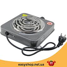Электроплита DOMOTEC MS-5801 спиральная - настольная электрическая плита 1 конфорка (1000 Вт), фото 3