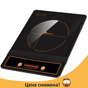 Електроплита DOMOTEC MS-5832 індукційна - настільна електрична плита 2000 Вт сенсорна Топ