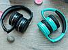 Бездротові навушники Gorsun GS-E86 - Bluetooth стерео навушники з MP3 плеєром і FM радіо (Блакитні) Топ, фото 3