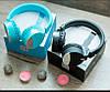 Бездротові навушники Gorsun GS-E86 - Bluetooth стерео навушники з MP3 плеєром і FM радіо (Блакитні) Топ, фото 6